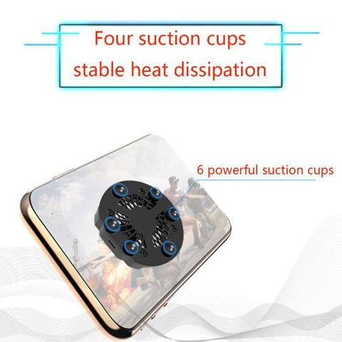 Foldable Fan Radiator Mobile Phone Cooler Cooling Support Holder Bracket for iPhone Samsung Huawei Xiaomi Smartphone Tablet r25 Karachi