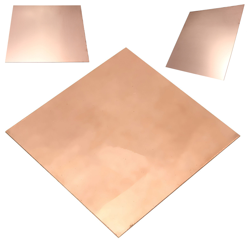 New 100mm*100mm*0.5mm 99.9% Pure Copper Cu Sheet Thin Metal Foil Sheet 1pc high purity copper plate cu metal foil sheet 0 1x200x1000mm best price for power tool accessories