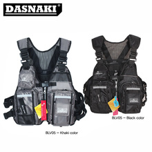 New MEDESEA fishing vests clothing for fishing jacket suitable 45KG-130KG lure fishing with Life whistle