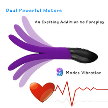 Rabbit Vibrator G spot Massager Multispeed Sex Toy Silicone Dual motors Vibrators for Women Products couple