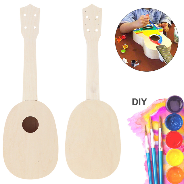 Pineapple Shaped 21 inch Ukulele DIY Kit