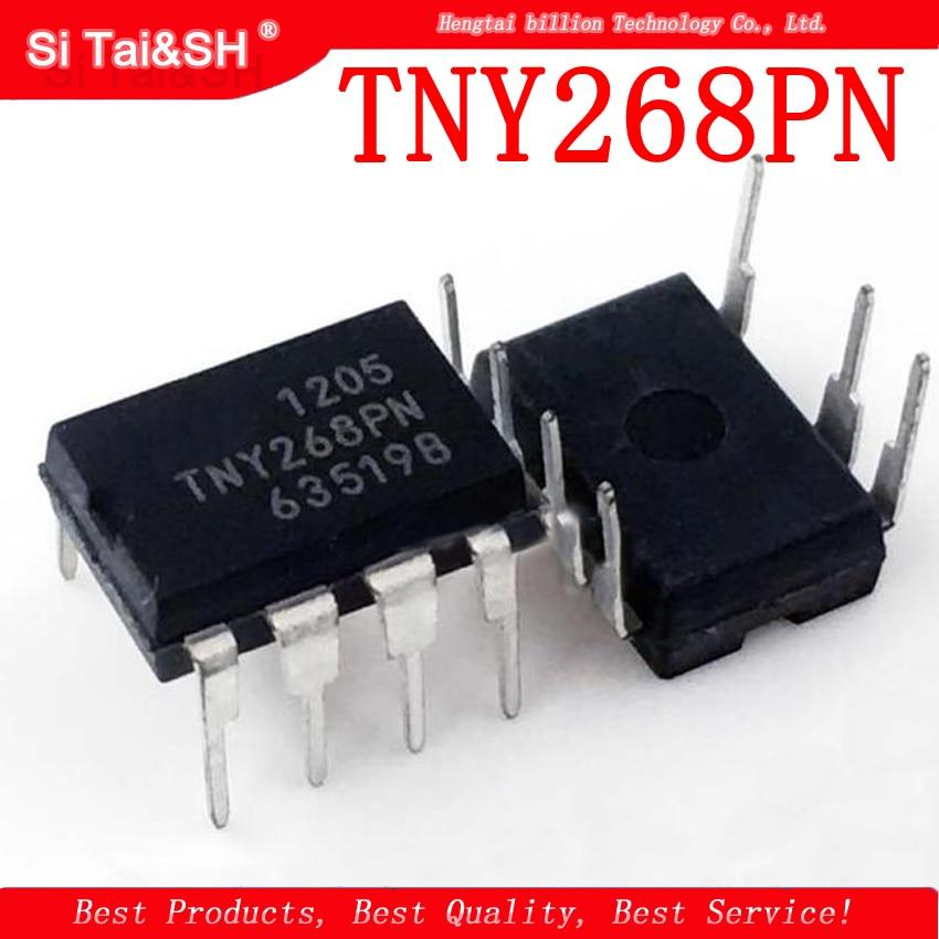 10pcs/lot TNY268P TNY268PN TNY268 DIP-7 LCD Power Management Chip