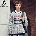Pioneer camp new arrival homens casual hoodies hoodies moda homens primavera inverno masculino camisolas desgaste marca clothing 622132