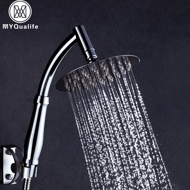 Ultra thin Shower Head 4/6/8 inch Stainless Steel Bathroom Shower ...
