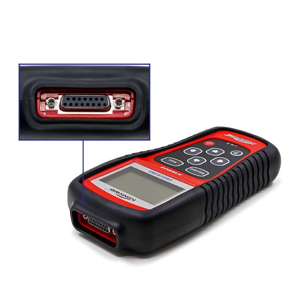 Skaner OBD2 KONNWEI KW808 samochodowe narzędzie diagnostyczne OBD 2 Auto skaner czytnik kodów silnika wsparcie może J1850