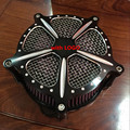 Motocicleta Modificado Air Filter Cleaner Intake para Harley Dyna Glide Softail Rocker 04-07 Fornecedor