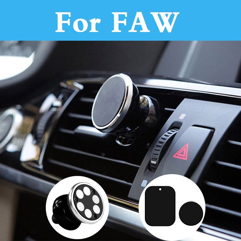 Magnetic Car Phone Holder Air Vent Gps Mobile Phone Car Stand For Faw V2 V5 Vita Besturn B50 Besturn B70 Besturn X80 Jinn Oley
