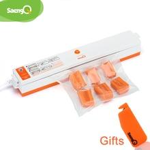 SaengQ вакуумные сумки пищевые вакуумные герметизаторы упаковочная машина 220 В включая 15 шт. можно использовать для еда saver кухонная техника