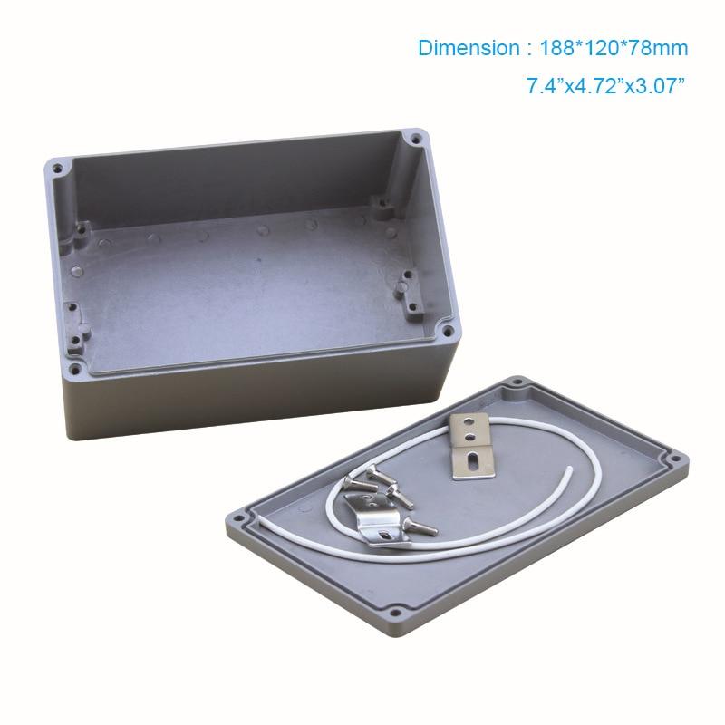 Tasuta saatmine, IP67 Tööstusmetall Veekindla alumiiniumist korpuse - Mõõtevahendid - Foto 1