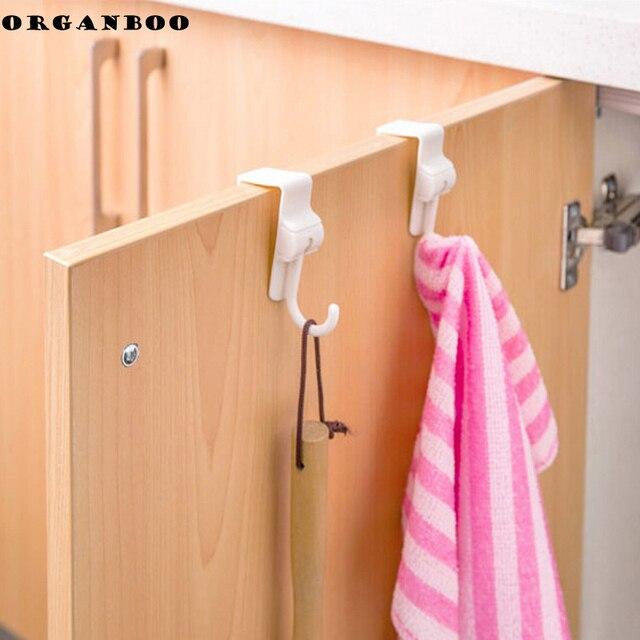 Kitchen Bathroom Accessories Sink Cabinet Door Hooks Garbage Bags