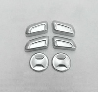 For Skoda Kodiaq 2016-2018 ABS Matte Inner Seat Control Button Cover Seat Ajustable Button Trims Auto Decorative Frame 6pcs/set