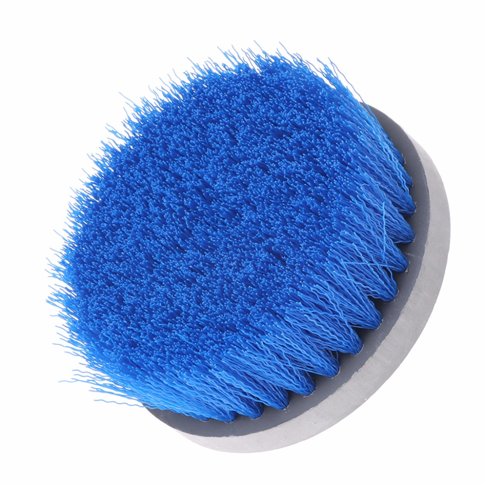100mm Drill Power Scrub Clean Brush For Cleaning Carpet Sofa Wooden Furniture 2018 New