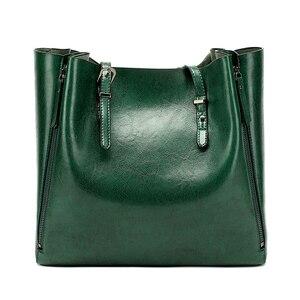 Image 4 - New Fashion Luxury Womens Handbag Women Large Tote Bag Female Bucket Shoulder Bags Lady Leather Messenger Bag Shopping Bag