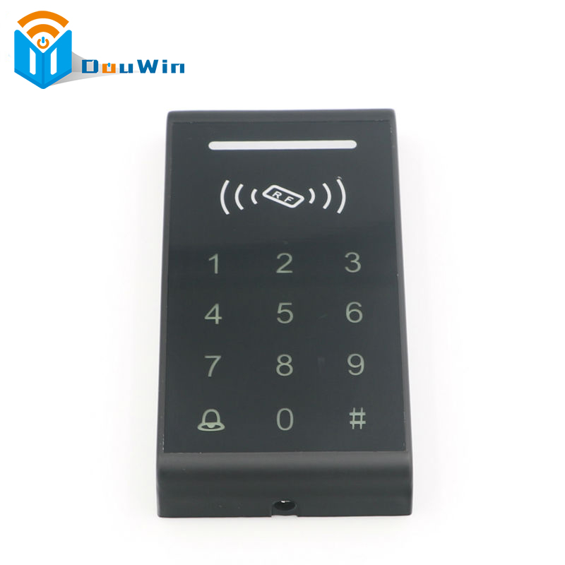 RFID standalone access control card reader Access Control System RFID Proximity Card RFID/EM Keypad Door Opener Access Control outdoor proximity rfid 125khz id card reader without keypad rs232 access control rfid reader rf em door lock access card reader