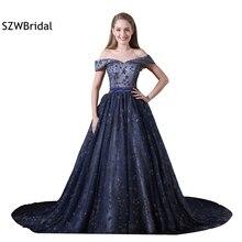 SZWBridal Abendkleider A-line Sequined Lace Evening dresses