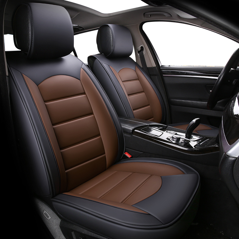 High Quality Leather car seat covers for Volkswagen vw passat b5 polo golf tiguan jetta touran