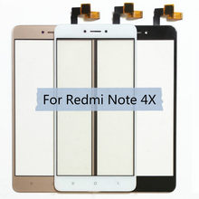 For Xiaomi Redmi Note 4 4X LCD Display Touch Screen Front Glass Sensor Digitizer Note4 Note4X Phone Replacement Spare Parts(China)