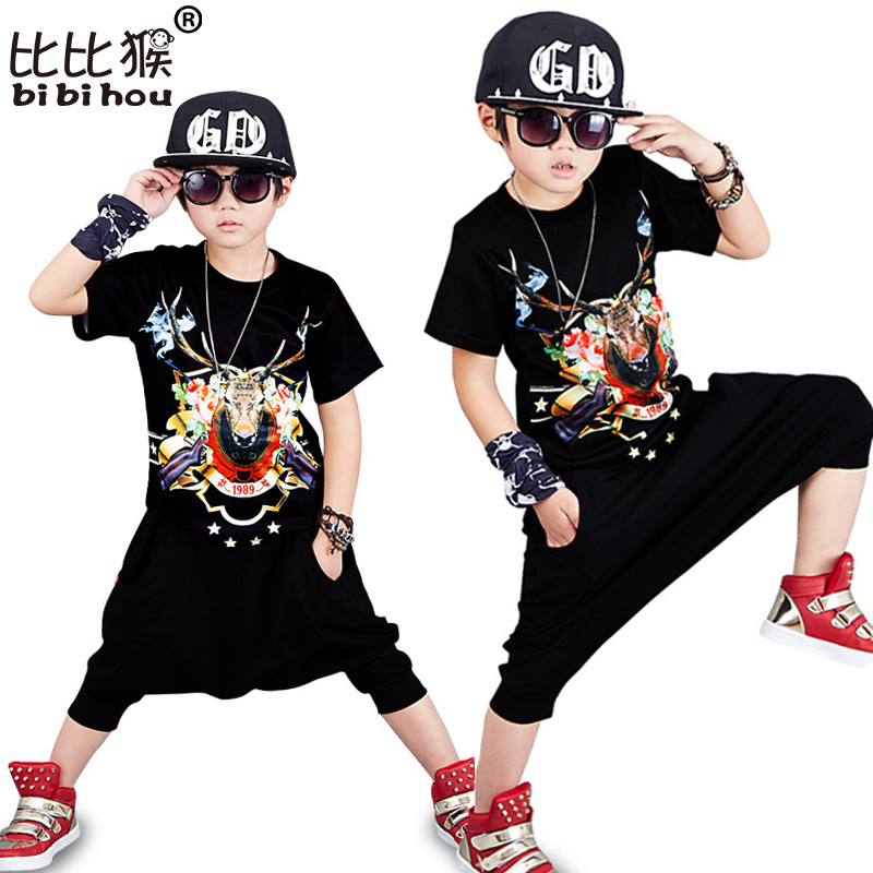 Bibihou Children`s Sports Suit Boy Casual Tracksuit Kids ...