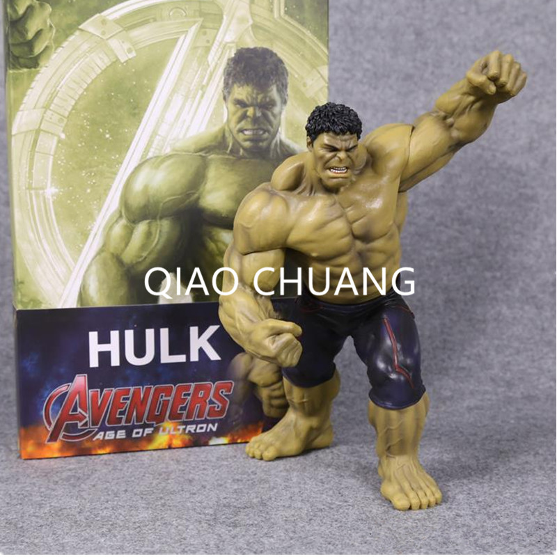 Crazy Toys Avengers Age of Ultron Hulk PVC Action Figure Collectible Model Toy 9 25CM Creative Fashion Cartoon RETAIL BOX G44