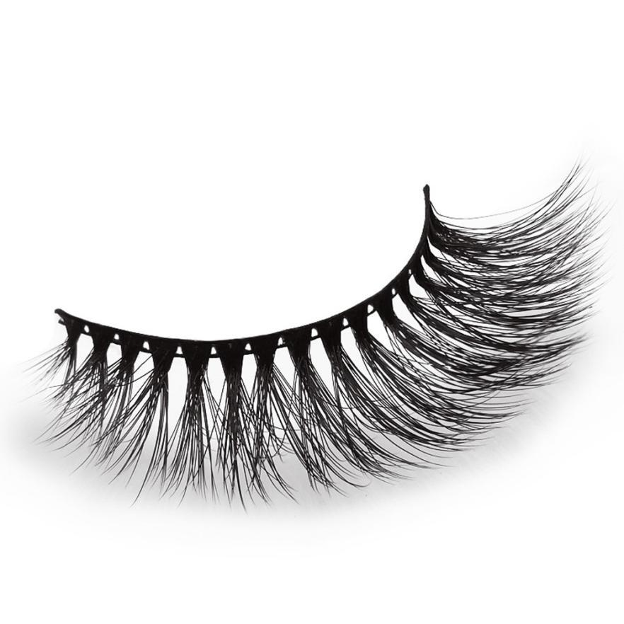 Beauty & Health Qualified 1 Pair Of False Eyelashes Real 3d Soft Long Natural Eye Lashes Makeup Thick False Eyelash Extension Dropshipping 18jul10 Soft And Antislippery