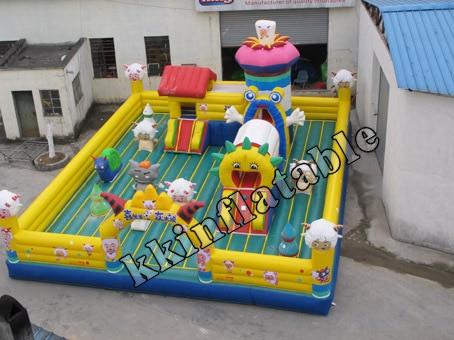 ФОТО wonderful inflatable funland ,inflatable fun city,inflatable funcity