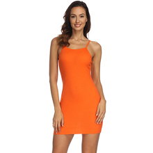 Women sleeveless Summer Bodycon Dress Off Shoulder Sexy Slim Dress vestidos Autumn Elegant Party Sun Dresses(China)