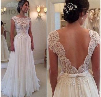 2017 custom made sexy cheap wedding dresses vestido de noiva casamento chiffon lace backless robe de.jpg 350x350