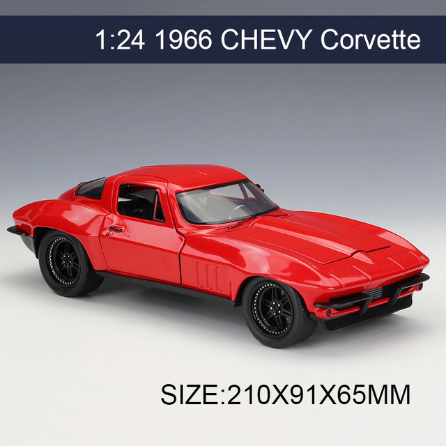 Aliexpress.com : Buy 1:24 Model Car Letty's Chevy Corvette