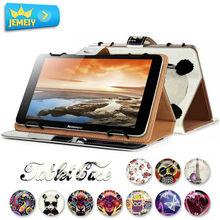 "7""for lenovo tab 2 a7-20f/ideatab a7-50 a3500 tablet funda de cuero, minions impresa universal cubierta de la tableta para lenovo tablet bolsa"