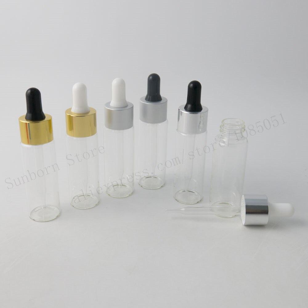 nouveau design 1000x30 ml gouttes clair bouteille en verre vide 30cc  récipient en verre d'huile essentielle 1 oz flacons compte gouttes dans  trousses