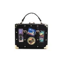 Women Handbag Ladies PU Leather Handbags Fashion Personality badge Luxury Women Bags Fasmous Design Tote Bolsas Bag ST115
