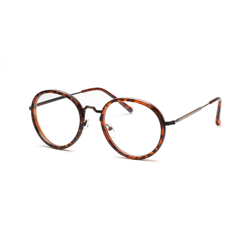 Retro Metal Frame Men Sunglass Women Designer Luxury Frame Mirror Lens Unique Shaped SunGlasses