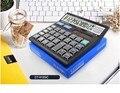 12 dígitos calculadora de Oficina ordenador Calculadora Solar CT-512GC Tamaño 128x126 cm