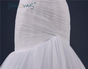 Image 5 - 2019 tulle 웨딩 드레스 구슬 벨트와 인어 신부 가운 vestido de novia 로브 드 mariage 우아한 빈티지 신부 가운