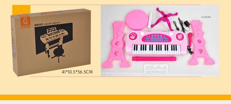 1 brinquedo piano indoor crianças brinquedos para