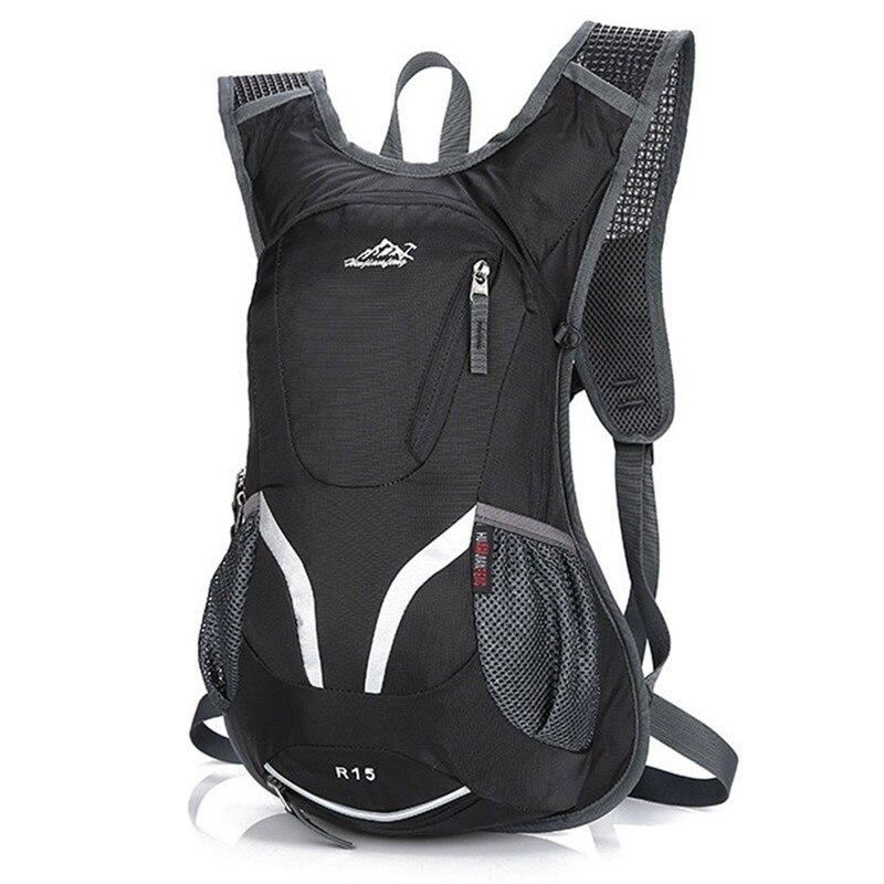 15L 防水マウンテンバイクサイクリングバックパック水和水バックパック通気性ハイキングクライミング乗馬自転車バックパックバッグ