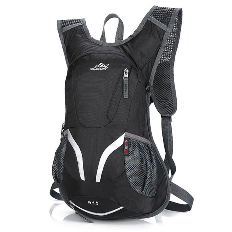 15L Waterproof Mountain Bike Cycling Backpack Hydration Water Backpack Breathable Hiking Climbing Riding Bicycle Backpack Bag