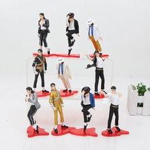5 pçs/set 11 centímetros MICHAEL FIGURAS figuras pvc brinquedos modelo dolls POSE