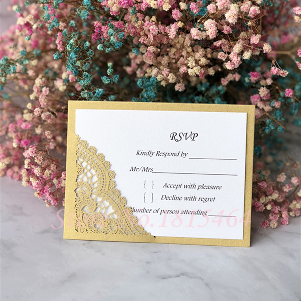 d7aec8e82de 100pcs RSVP Wedding Card Personalized Text Cards Greeting Invitation Cards  Message Gift Cards Postcards Birthday Party Supplies-in Cards & Invitations  ...