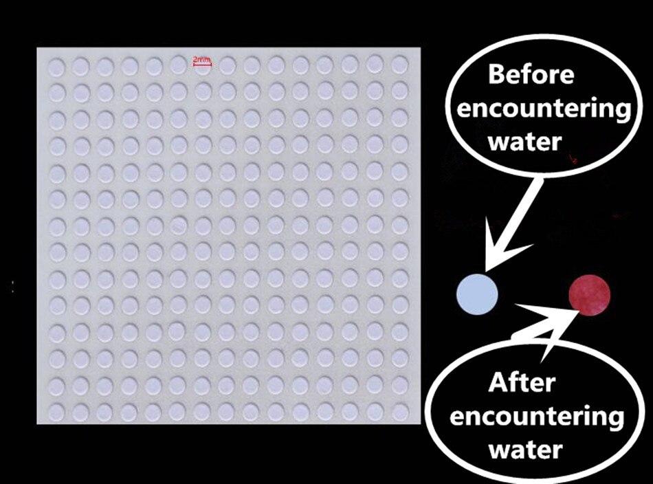 10000 Teile/los 4mm Runde Handgemachte Aufkleber Mobile Computer Und Elektronische Produkte Garantie Sicherheit Label Wasser Rot Papier Tags