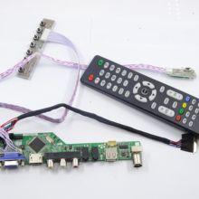 TV56 RF AV USB HDMI DVI VGA LED LCD плата контроллера комплект для LG дисплей LP156WH4(TL)(N1)/(TL)(N2) панель 1366X768