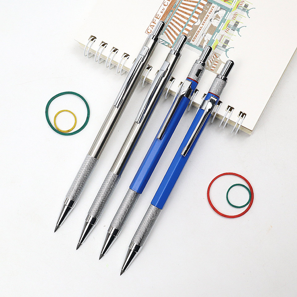 Mechanical Pencil 2.0mm 2B High Quality Plastic And Metal Automatic Pencils Sketch Drawing For School Office Stationery Supplies