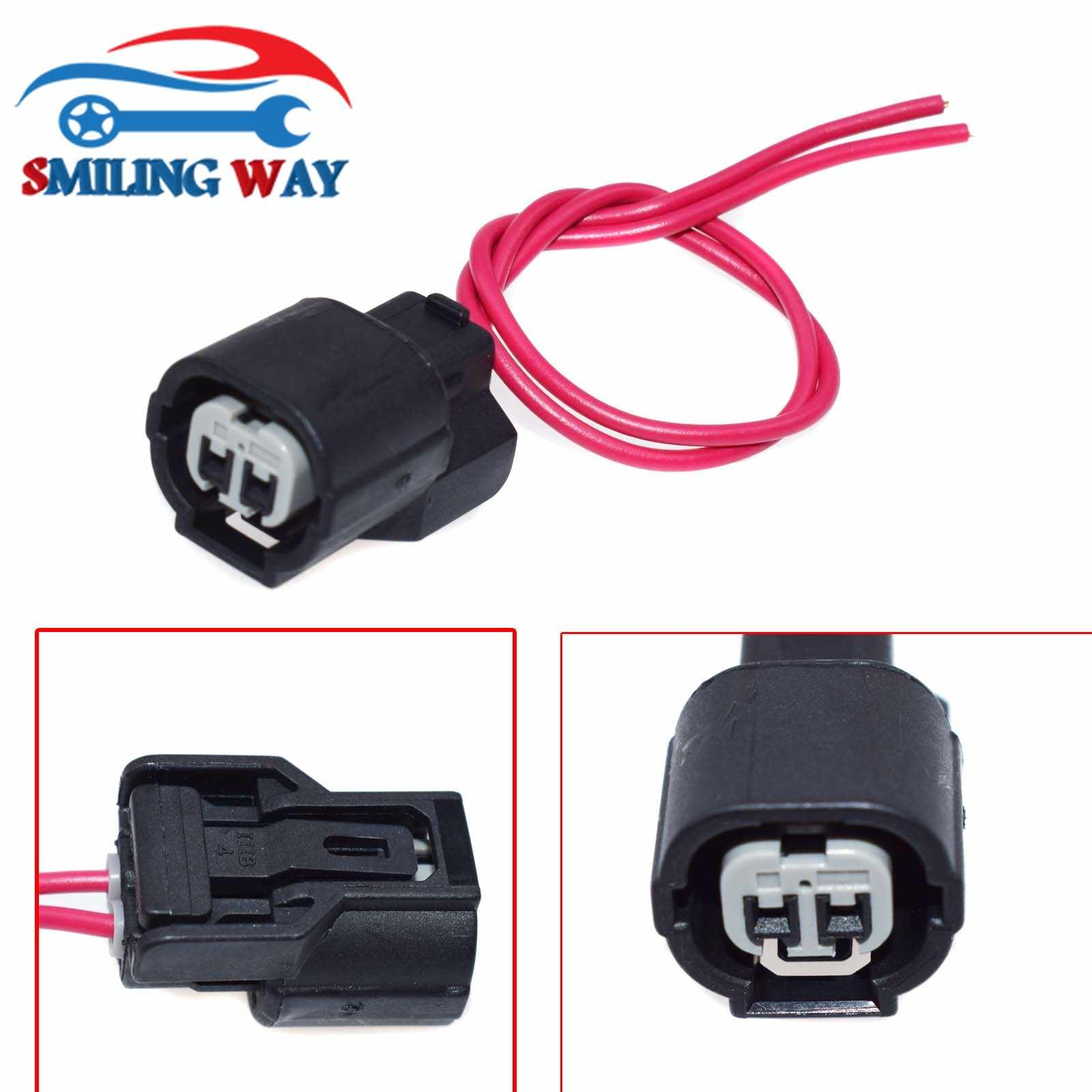 smiling way# iat ect vtec connector wire harness wiring pigtail plug for  honda acura civic