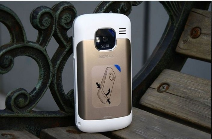 Refurbished phone Nokia E5 5MP Camera 3G network english languge cell phones silver 5