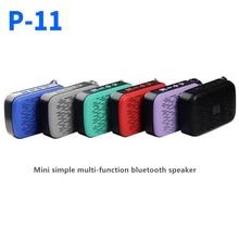 P11 Mini Bluetooth Speaker Simple Multifunction Bluetooth Speaker цена и фото