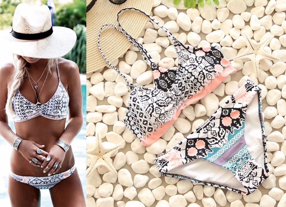 Swimwear Women Swimsuit Push Up Swimwear Female 19 Sexy Bandeau Bikini Ladies Brazilian Beach Bathing Suit bandage Bikini Set 20