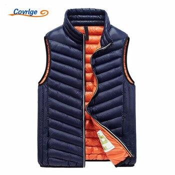 Covrlge Men Jacket Sleeveless Vest Winte...