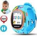 Mais novo S866 Crianças Relógios Meninos Inteligente Anti Perdido Rastreador GPS Chamada resposta smart watch sos para crianças relógios de pulso para iphone android