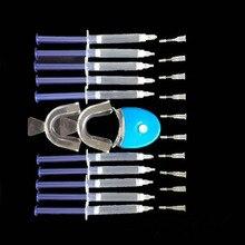 APINKGIRL Heißer Zahnaufhellung Gel Set 44% Peroxid Zahnbleichsystem Oral Gel Kit Zahn Aufheller Professionelle Zahnpflege