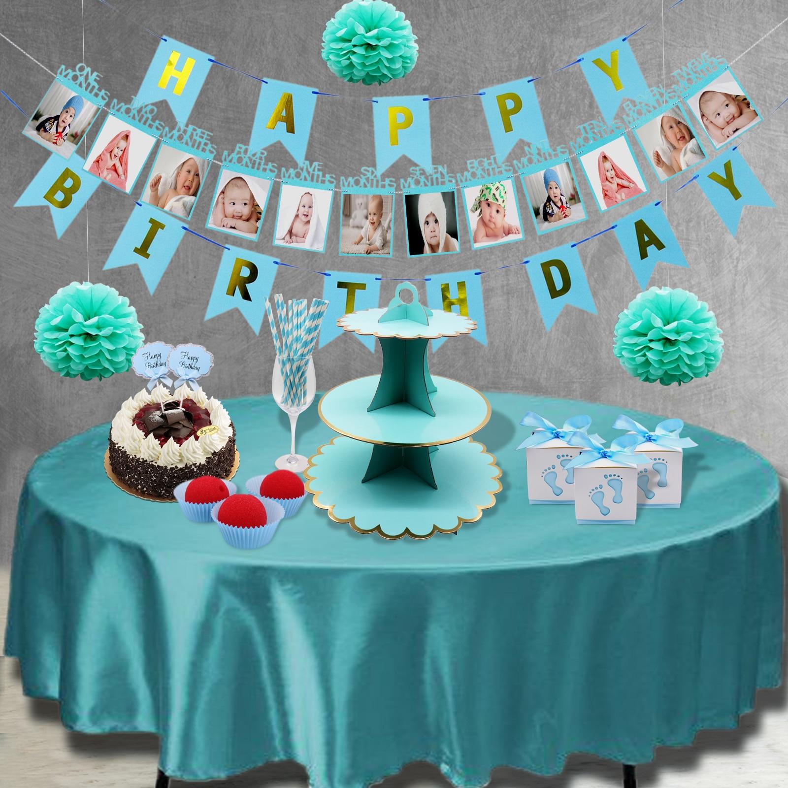 It's a Boy Blue Theme Birthday Party Decoration Foil ...